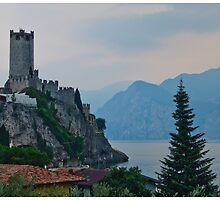 Postcard from Malcesine by Paul Weston