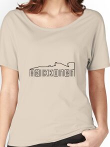 Kimi Raikkonen Design Women's Relaxed Fit T-Shirt