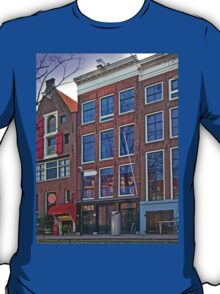Anne Frank Home In Amsterdam T-Shirt
