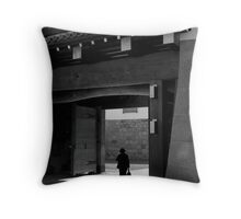 Out of the Office Throw Pillow