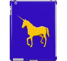 Unicorn on the cob geek funny nerd iPad Case/Skin