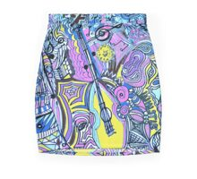 Dance to the Music Mini Skirt