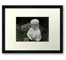 'Clytie' in the Garden Framed Print