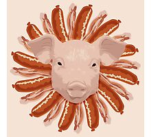 Pork Chop Photographic Print