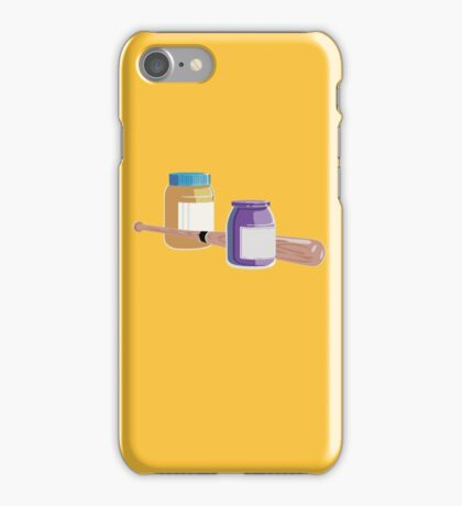 It's Peanut Butter Jelly Time iPhone Case/Skin