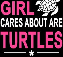 ALL THIS GIRL CARES ABOUT ARE TURTLES AND LIKE MAYBE 3 PEOPLE by badassarts