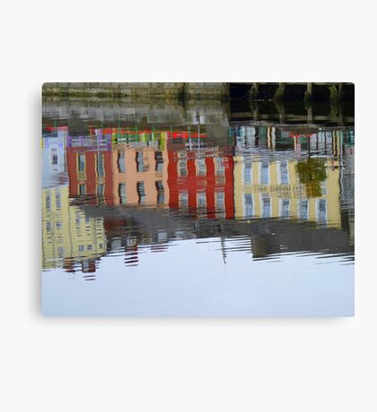 Colourful Water Reflection Canvas Print