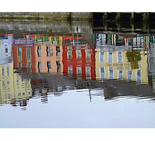 Colourful Water Reflection Photographic Print