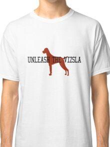 Unleash the vizsla mens orange geek funny nerd Classic T-Shirt