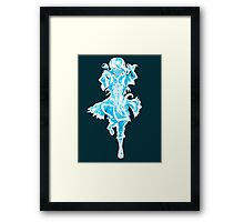 Spirit Korra and Raava Framed Print