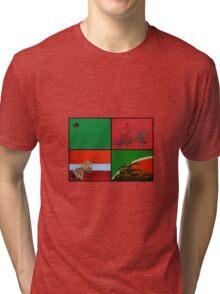 Urban Nature Collage Tri-blend T-Shirt