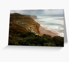 Cliff of Port Campbell Greeting Card