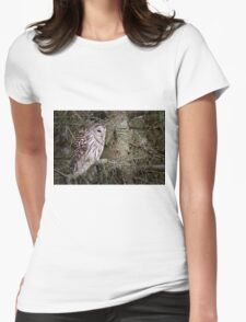 Barred Owl - Brighton, Ontario Womens Fitted T-Shirt