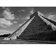 Pyramid of the Sun Photographic Print