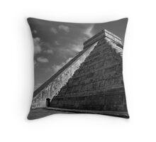 Pyramid of the Sun Throw Pillow