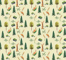 Swedish Forest by Tamara Webster