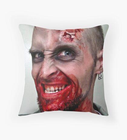 Brrraaaaiiinsss! Throw Pillow