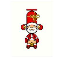 Capsule Toyz - Santa Claus Art Print