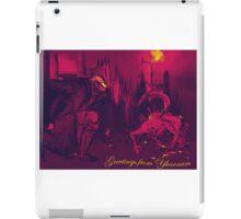 Bloodborne Yharnam Postcard iPad Case/Skin