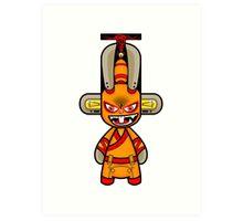 Capsule Toyz - Rabbit Ninja Art Print