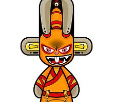 Capsule Toyz - Rabbit Ninja by Saing Louis