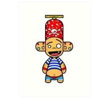 Capsule Toyz - Pirate Forever ! Art Print