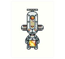 Capsule Toyz - Mechanic Fire Art Print