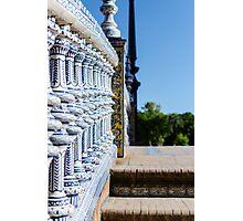 Seville - Plaza de España Photographic Print