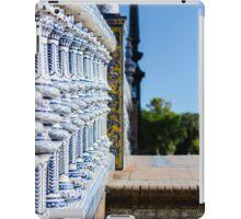 Seville - Plaza de España iPad Case/Skin