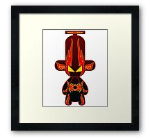 Capsule Toyz - Fury Flame Framed Print