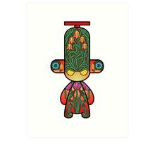 Capsule Toyz - Floral Art Print