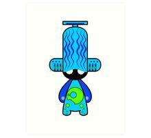 Capsule Toyz - Electro DJ Art Print
