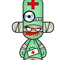 Capsule Toyz - Slaughter Doctor by Saing Louis