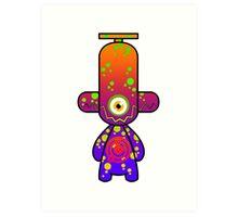 Capsule Toyz - Electro Cyclop Art Print