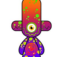 Capsule Toyz - Electro Cyclop by Saing Louis