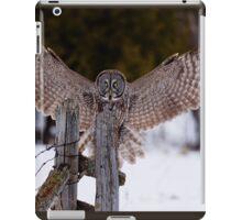 Great Grey Owl iPad Case/Skin