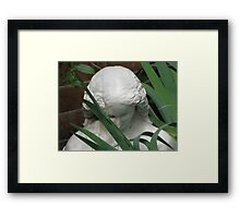 Bust entitled 'May' Framed Print