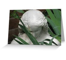 Bust entitled 'May' Greeting Card