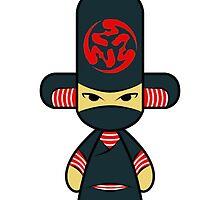 Capsule Toyz - Black Ninja by Saing Louis