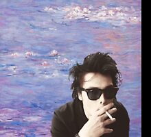 Gerard Way Monet Case by whirlyhurley