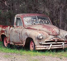 Rusted Wreck by Sophia Phoenix