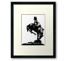 Glasgow Cowboy Framed Print