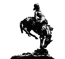 Glasgow Cowboy Photographic Print