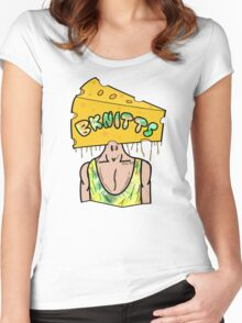 CheezeHead Women's Fitted Scoop T-Shirt