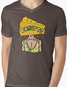 CheezeHead Mens V-Neck T-Shirt