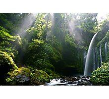 Water & Rays Photographic Print