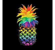 Pineapple Rainbow Fruit Photographic Print