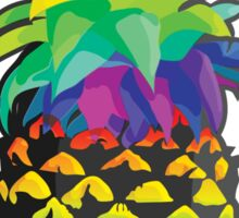 Pineapple Rainbow Fruit Sticker