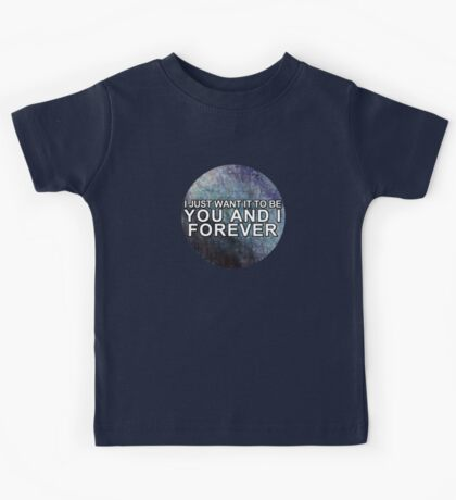 Happily (You and I Forever) - One Direction Kids Tee