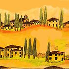 tuscany houses.... by philsart